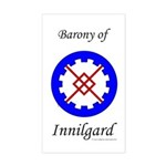 Innilgard populace Rectangle Sticker
