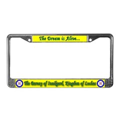 Innilgard populace License Plate Frame