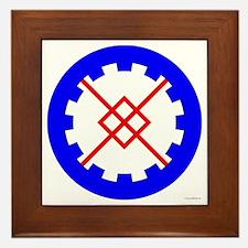 Innilgard populace Framed Tile
