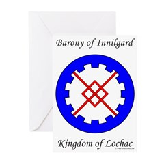 Innilgard populace Greeting Cards (Pk of 20)