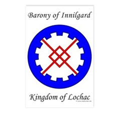 Innilgard populace Postcards (Package of 8)
