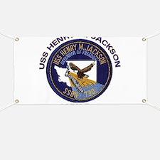 SSBN 730 USS Henry M Jackson Banner