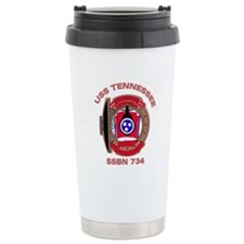 USS Tennessee SSBN 734 Travel Coffee Mug
