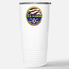 USS Alabama SSBN 731 Stainless Steel Travel Mug