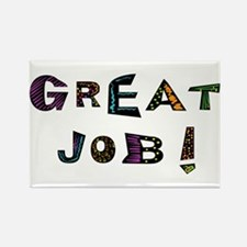 Great Job! Rectangle Magnet (100 pack)