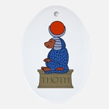 Thoth Oval Ornament