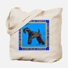 Unique Kerry blue terrier Tote Bag