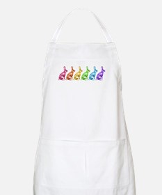 Rainbow Rabbits Apron