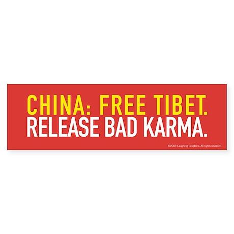 Release Bumper Sticker