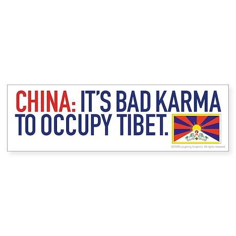 Bad Karma Bumper Sticker (10 pk)