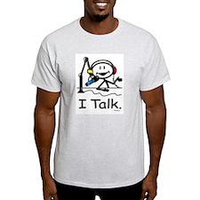 BusyBodies Radio Talk Show Host Ash Grey T-Shirt
