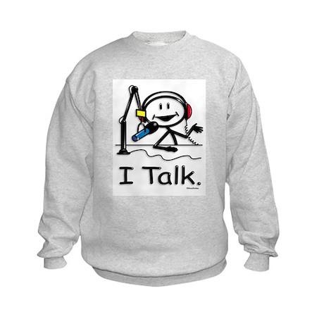 BusyBodies Radio Talk Show Host Kids Sweatshirt