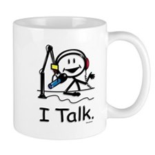 BusyBodies Radio Talk Show Host Mug