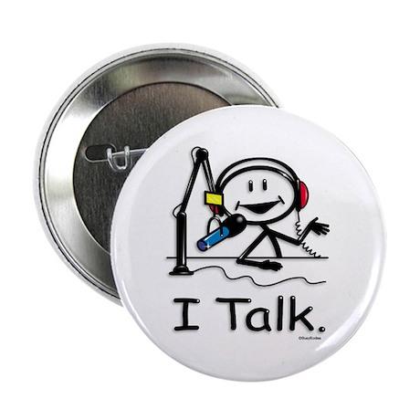 """BusyBodies Radio Talk Show Host 2.25"""" Button (10 p"""