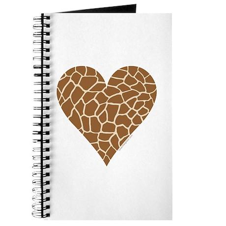 I Love Giraffes Journal