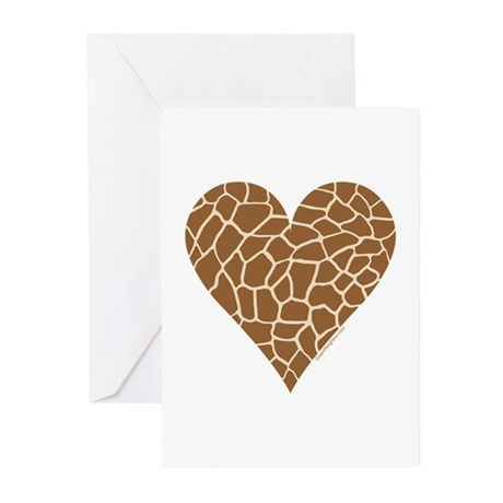 I Love Giraffes Greeting Cards (Pk of 10)