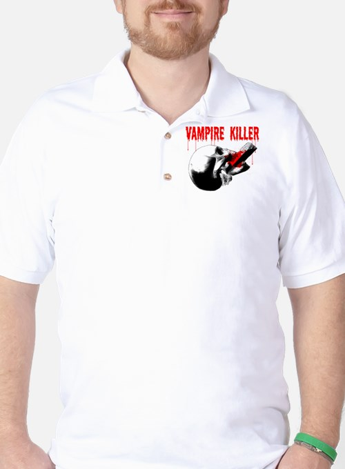 Vampire Killer Golf Shirt