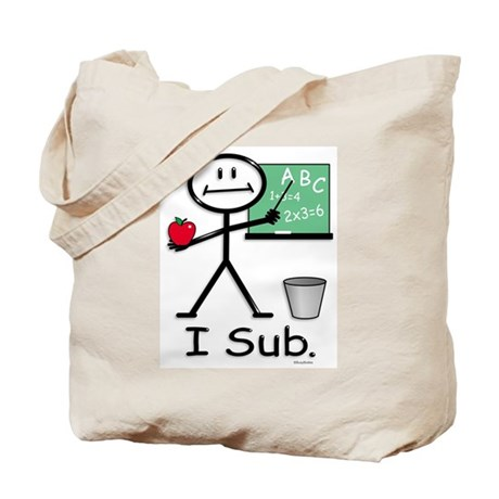 BusyBodies Substitute Teacher Tote Bag
