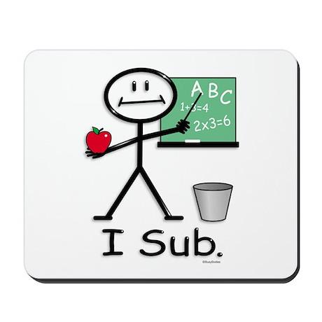 BusyBodies Substitute Teacher Mousepad