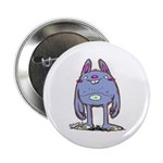 "Purple Bunny 2.25"" Button"