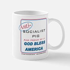 Anti-socialist Pig Mug