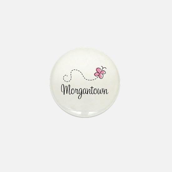 Pretty Morgantown West Virginia Mini Button