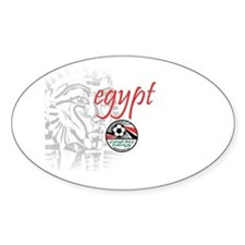 The Pharaohs Oval Decal