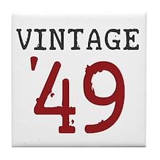 Vintage 1949 Tile Coaster