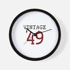 Vintage 1949 Wall Clock
