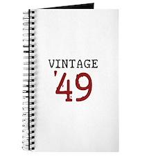 Vintage 1949 Journal