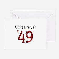 Vintage 1949 Greeting Card