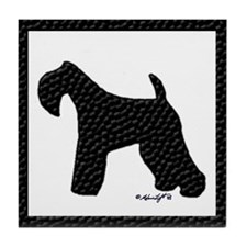 Kerry Blue Terrier Tile Coaster