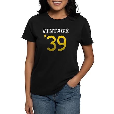 Vintage 1939 Women's Dark T-Shirt