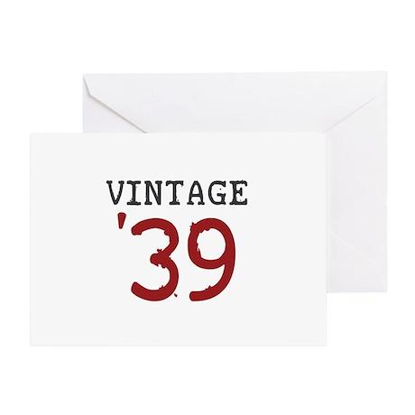 Vintage 1939 Greeting Card