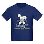 Every Bunny Earth Day Kids Dark T-Shirt
