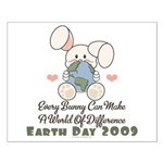 Every Bunny Earth Day Small Poster