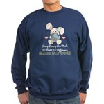 Every Bunny Earth Day Sweatshirt (dark)