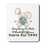 Every Bunny Earth Day Mousepad
