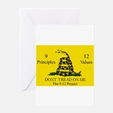 Don't Tread on Me 9-12 Greeting Card