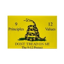 Don't Tread on Me 9-12 Rectangle Magnet