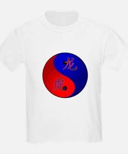 Tiger/Dragon Yin/Yang T-Shirt