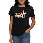 It's a Girl Women's Dark T-Shirt
