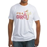 It's a Girl Fitted T-Shirt
