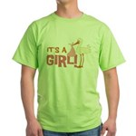 It's a Girl Green T-Shirt