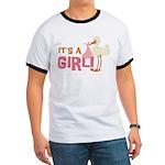 It's a Girl Ringer T