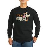 It's a Girl Long Sleeve Dark T-Shirt