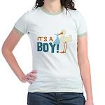 It's a Boy Jr. Ringer T-Shirt