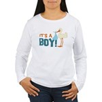 It's a Boy Women's Long Sleeve T-Shirt