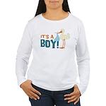 It's a Boy Women's Long Sleeve T-Shirt