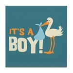 It's a Boy Tile Coaster
